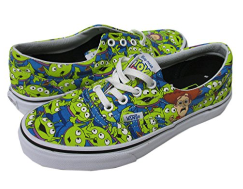 Vans recently released a whole collection of Disney Vans and we are in love with them! They are cute stylish and represent some of our favorite Disney films. Too see them all go here!