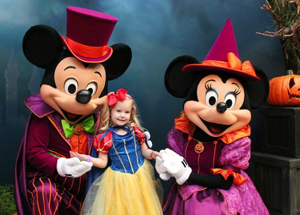 Mickey's Not So Scary Halloween Party Meet and Greet