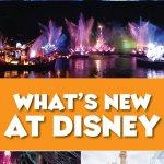 New at Disney in 2018
