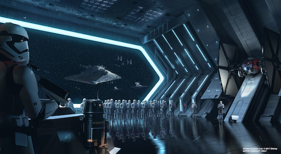 Star Destroyer Attraction coming to the new Disney Star Wars Land.