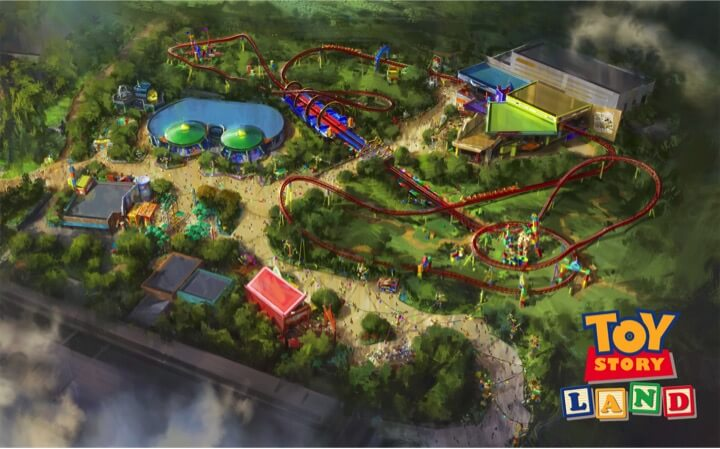 Disney Toy Story Land