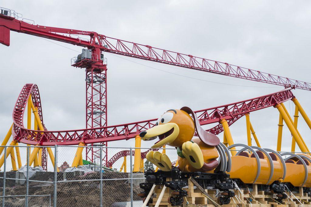 Slinky Dog Dash Ride Vehicle Arrives at Disney's Hollywood Studios