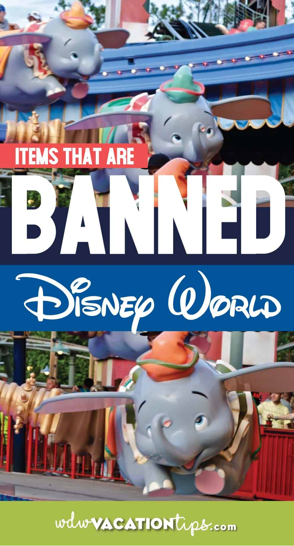 What's Banned at Disney World 1
