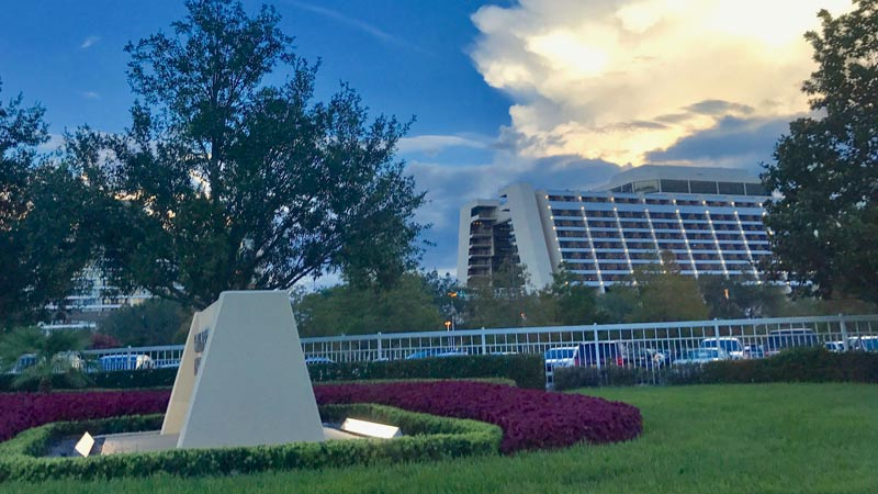 Disney World Contemporary Hotel