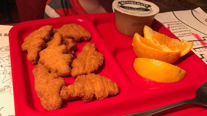 Jurassic Chicken Tidbits