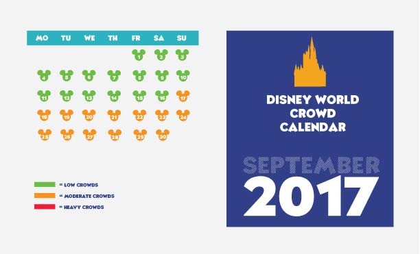 Crowd calendar for September.