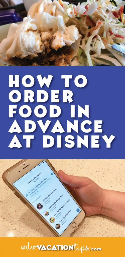 Who knew that you could skip the line and order your quick service food at Disney World on your phone? Step by step guide to how to order your next meal at Disney from your phone. A great way to save time at Disney World.