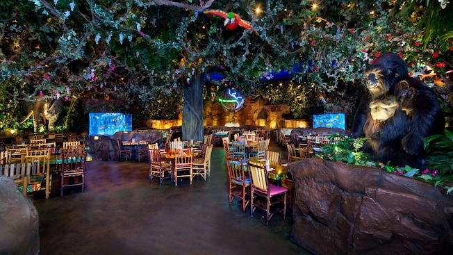 Rainforest Cafe at Disney World