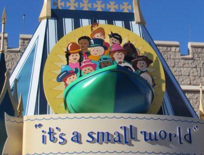 small world Disney world