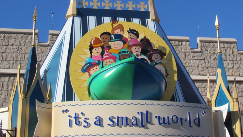 small world Disney world