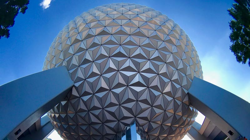 Spaceship Earth Epcot Disney World