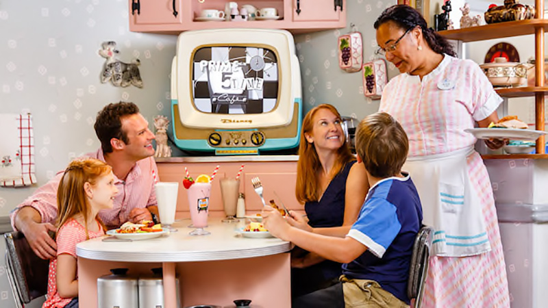 50's Prime Time Café at Hollywood Studios