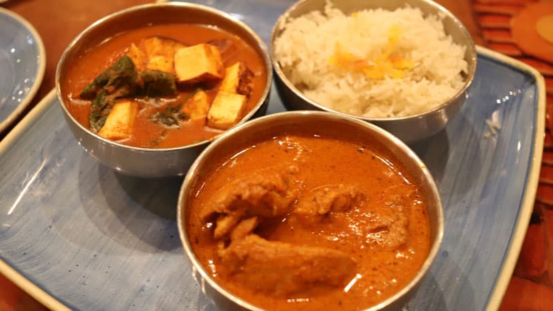 Butter Chicken at Sanaa