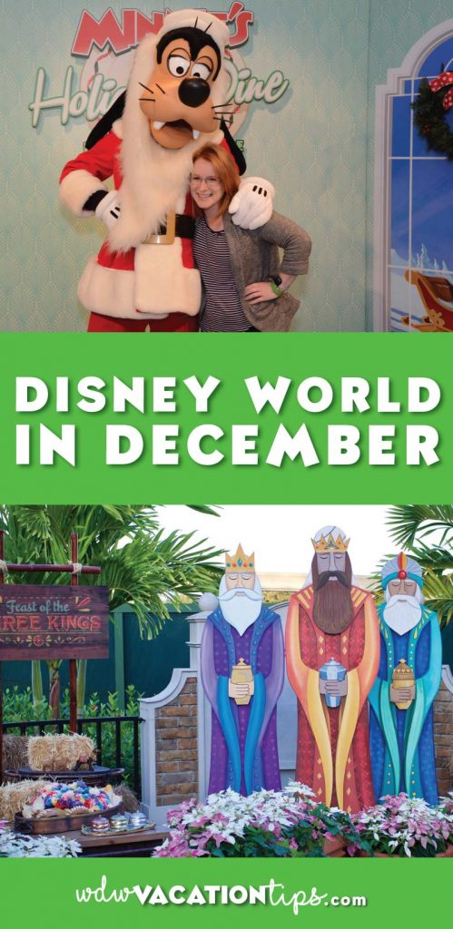 Disney World in December is a great time to visit Disney World as it is the heart of the holiday season at Disney World. You can think of the holidays as when Tinkerbell dumps a whole lot of extra pixie dust across every corner of the resort.