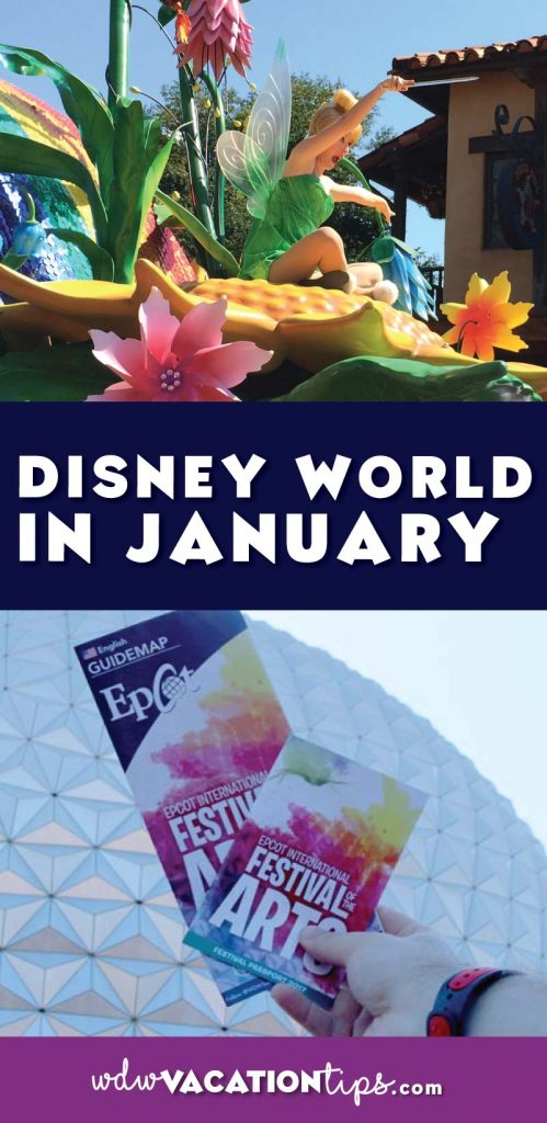 What to expect if you visit Disney World in January.