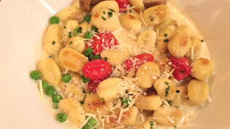 Seared Potato Gnocchi