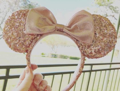 Rose Gold Minnie Ear Giveaway! 55