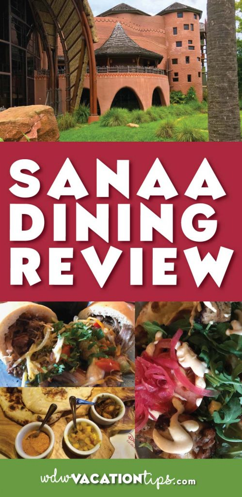Sanaa is an African-inspired restaurant with Indian flavors inside Kidani Village at Disney's Animal Kingdom Lodge in Disney World. I consider this one of the hidden gems of Disney dining options.