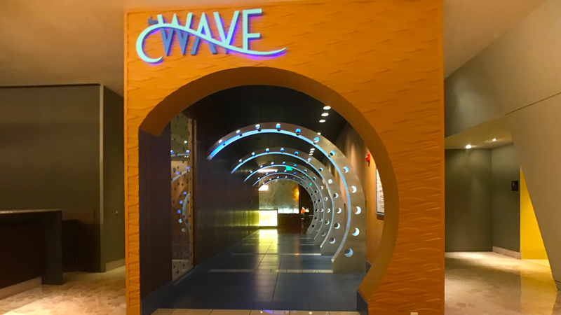 Front of the Wave Restaurant