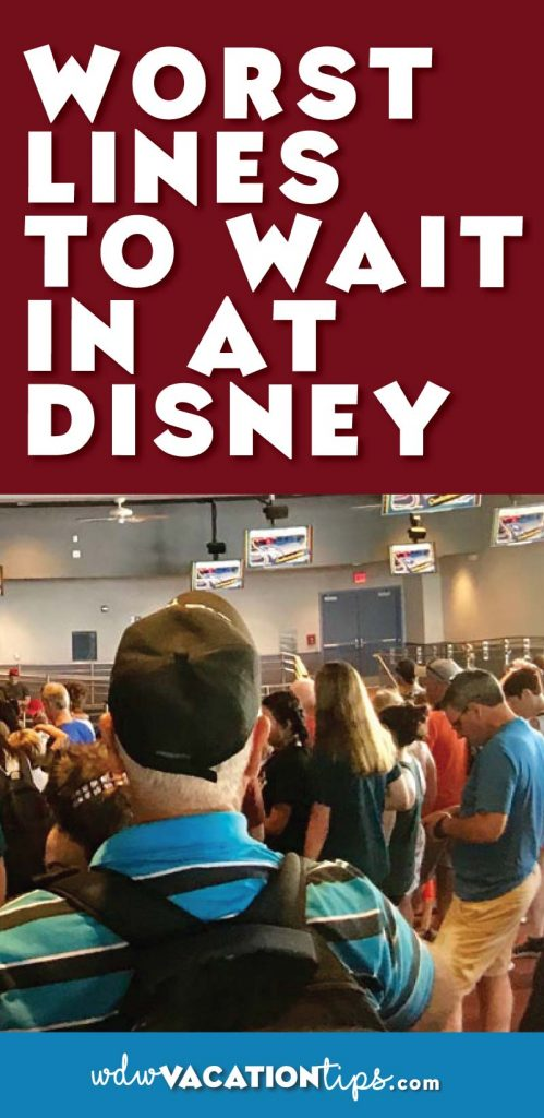 The worst lines to wait in at Disney World.