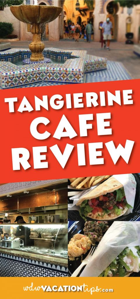 Tangierine Cafe is a hidden treasure of Epcot! The food here has some great healthy options that are still full of flavors. I think it often gets skipped over since the food isn't as familiar to everyone.