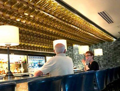 The bar at Flying Fish