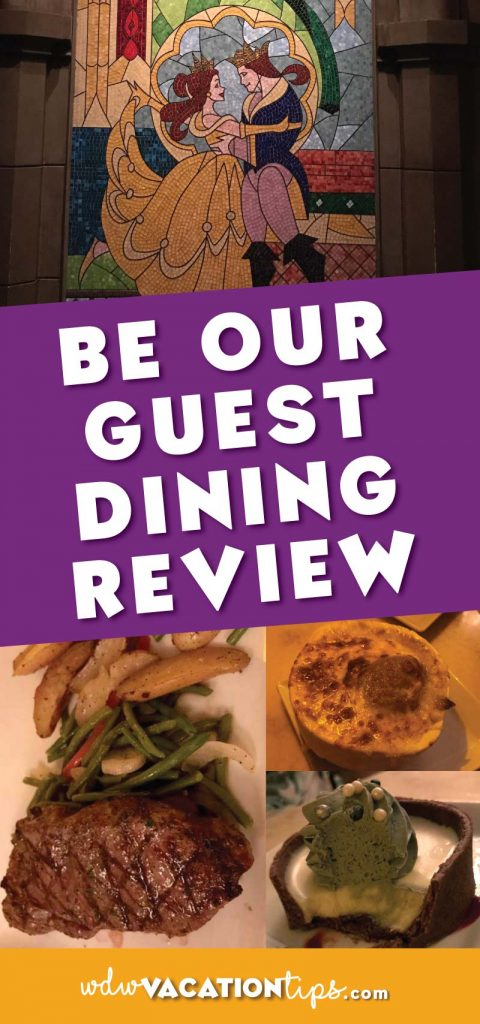A full dining review of Be Our Guest restaurant in the Magic Kingdom at Walt Disney World.
