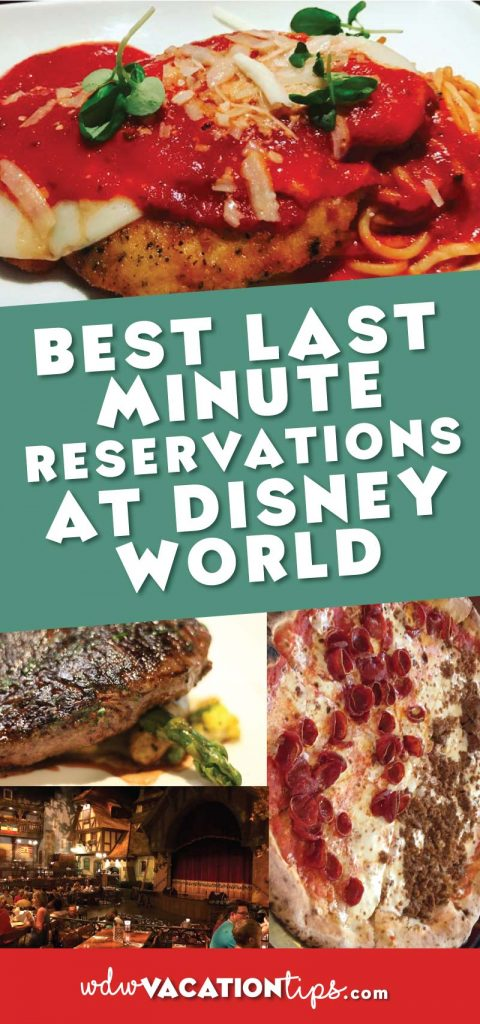 Saving this!! Best last minute reservations at Disney World in case you can't get the ones you want.