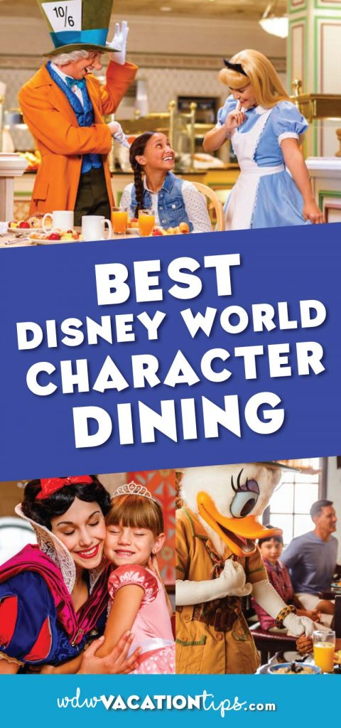What is Character dining at Disney World? They are special meals offered at select restaurants that feature characters who will come and greet you throughout your meal. Here is what I think the best spots are!