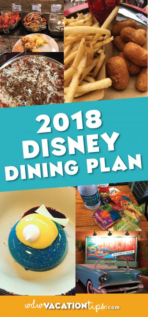 A breakdown of the 2018 Disney Dining plan and what you need to know about the new changes.