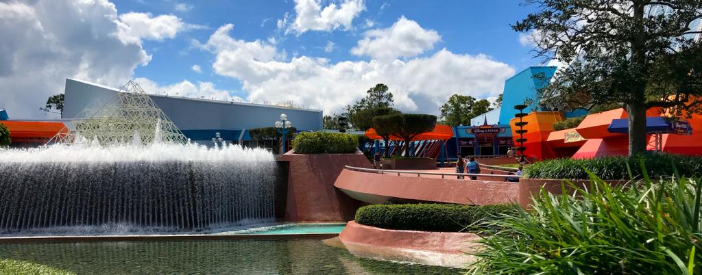 Disney World in February: Future World, Epcot