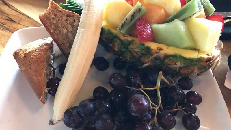 Fruit Plate at Kona Cafe