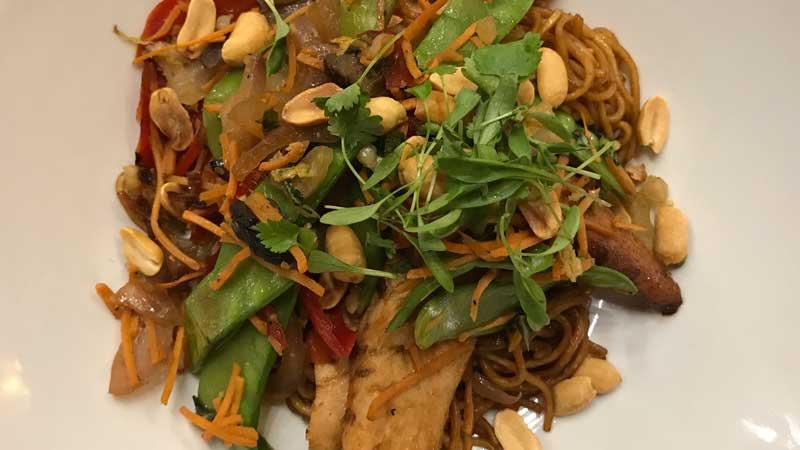 Asian Stir Fry at Kona Cafe