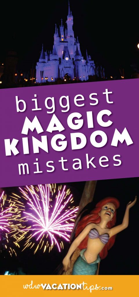 Since there is so much to do it really feel like it's impossible to accomplish everything in one day. In order to help your day be a little more magical we are spilling the beans on what we feel are the biggest Magic Kingdom mistakes people make.