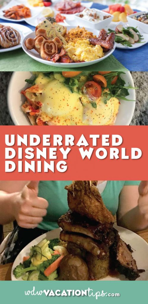 There is so many restaurants to choose from at Disney World some just get lost in the mix. You have your always highly rated like California Grill, Cinderella's Royal Table and Boma but there are some other hidden gems at Disney World as well.