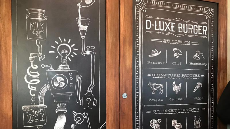 D-Luxe Burger Dining Review 2