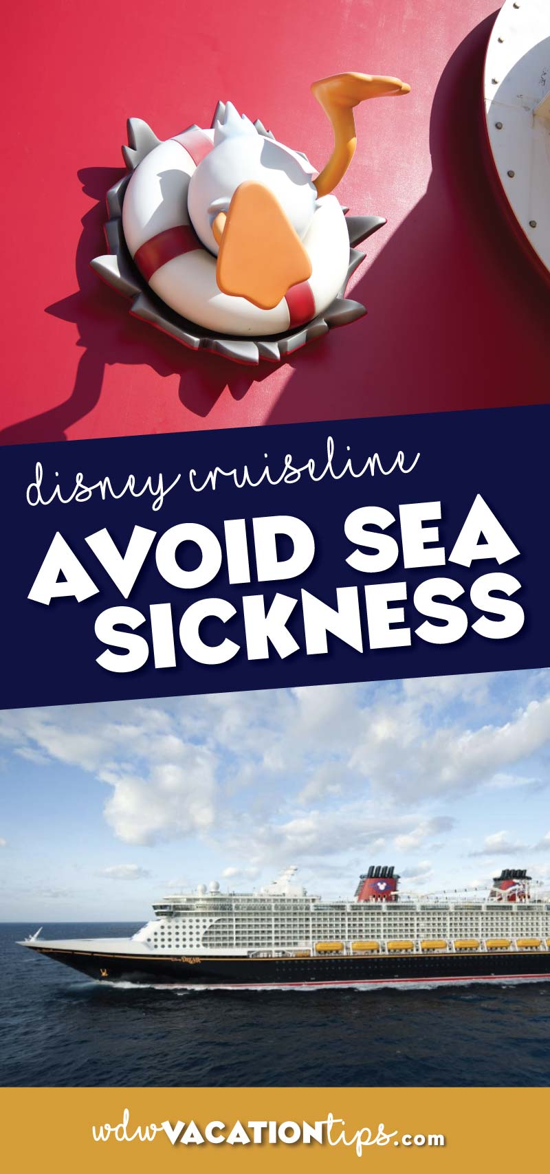 These are my suggestions on how to avoid motion sickness on a Disney Cruise because there is nothing worse than paying the premium for a Disney cruise and being seasick the whole time.