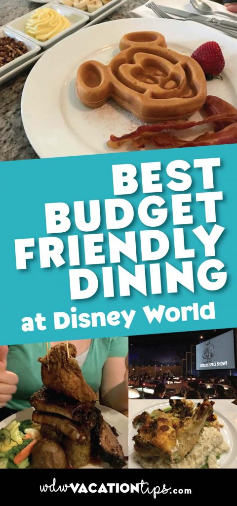 The best budget friendly restaurants at Disney World