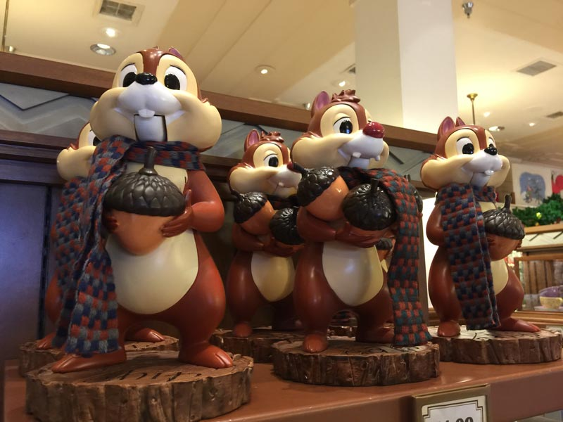 Chip and Dale nutcrackers