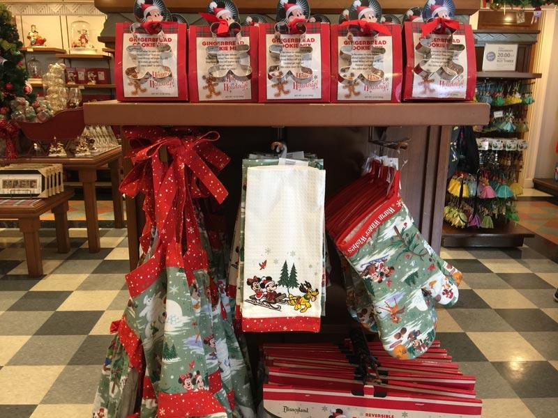 Disney World Christmas Merchandise Kitchen Collection