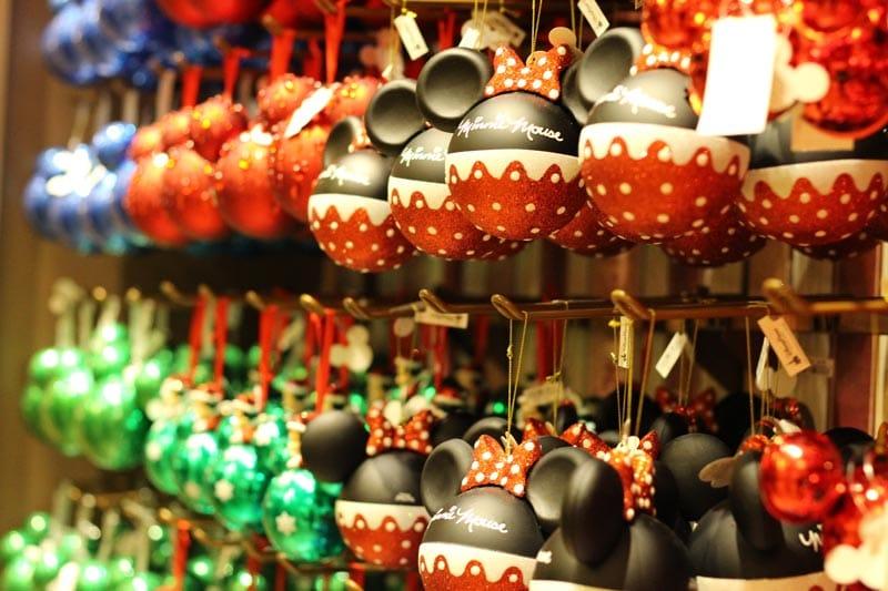 Disney World Christmas Merchandise Ornaments