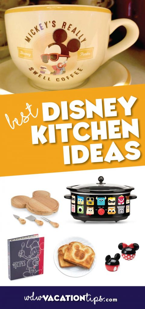 Have you ever had the thought that you wanted to add some Disney to your kitchen? Some of us just can't get enough Disney to hold us over to our next vacation.