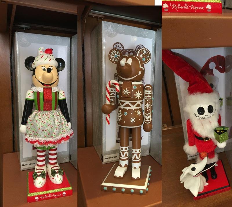 Various Disney nutcrakers