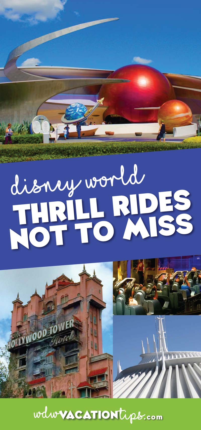 If you are a thrill seeker, these are the top thrill rides at Disney World that you are not going to want to miss. Yup that's right Disney World has big kid rides!