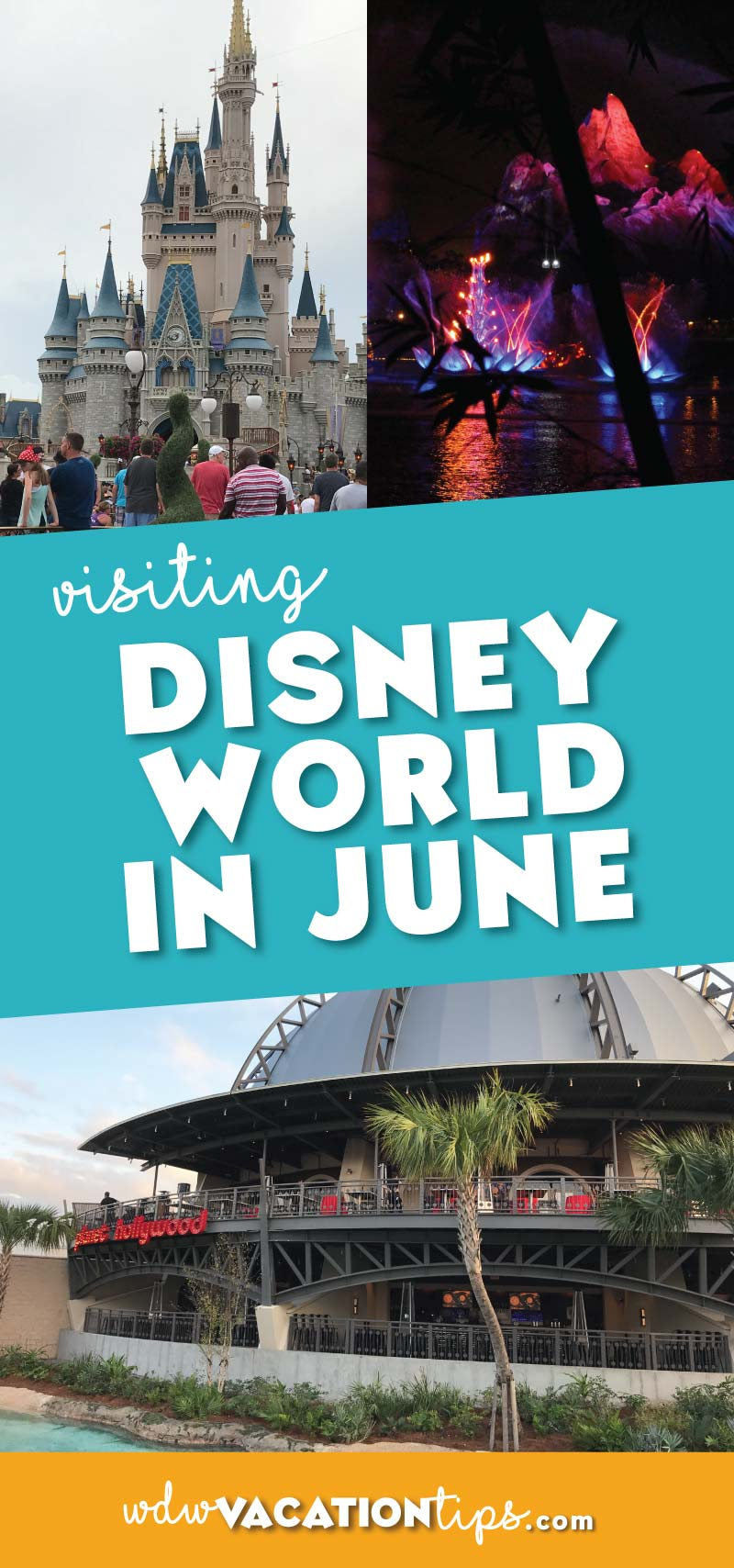 Tip and tricks for visiting Disney World in June. This is the official kickoff to the summer