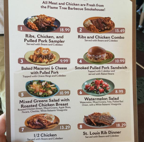 Spoon And Pork Food Truck Menu
