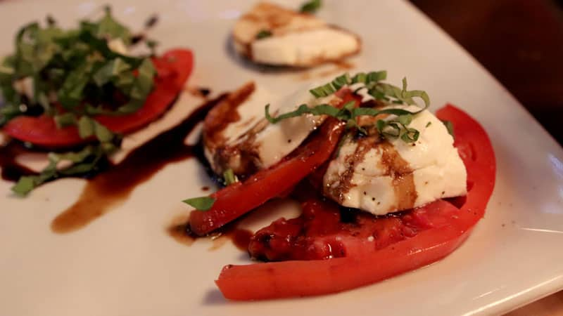 Fresh Mozzarella and Vine-ripened Tomatoes