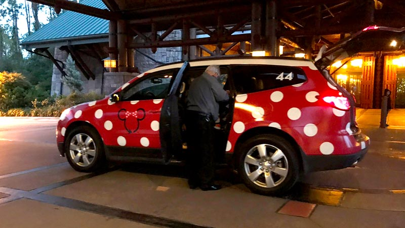 Disney World Minnie Van Service