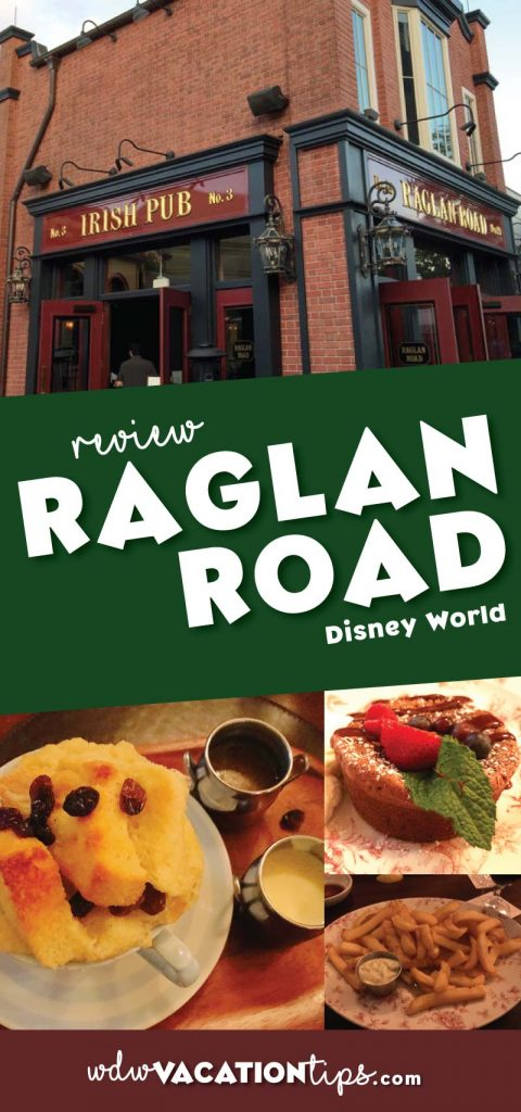 Raglan Road Irish Pub can be found at Disney Springs, Walt Disney World. This restaurant features live music, Celtic dance, and of course Irish cuisine.