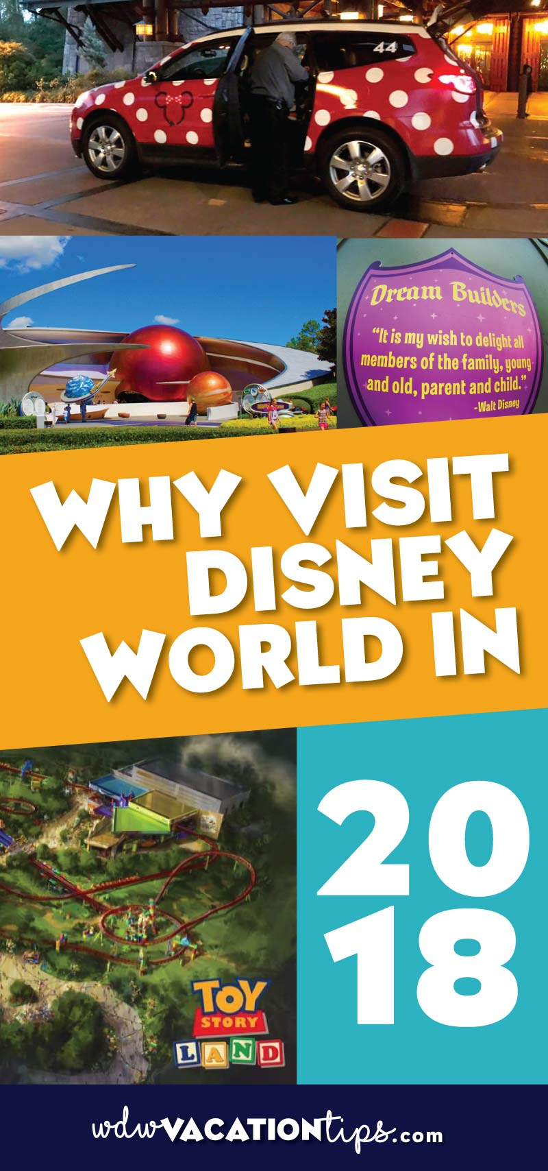 Thinking of just waiting until 2019 to visit Disney World when Star Wars land opens? You may want to reconsider, there are some really great reasons why you should visit Disney World in 2018.